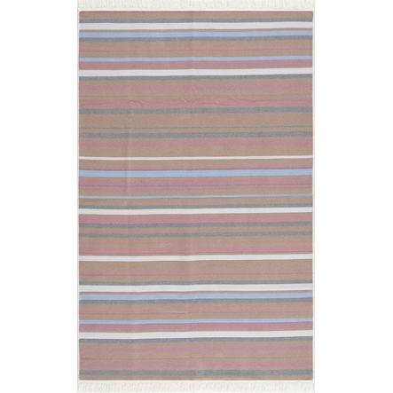 LIVONE Baumwoll Teppich waschbar Happy Rugs Piatto BEACH multi 160x230 cm
