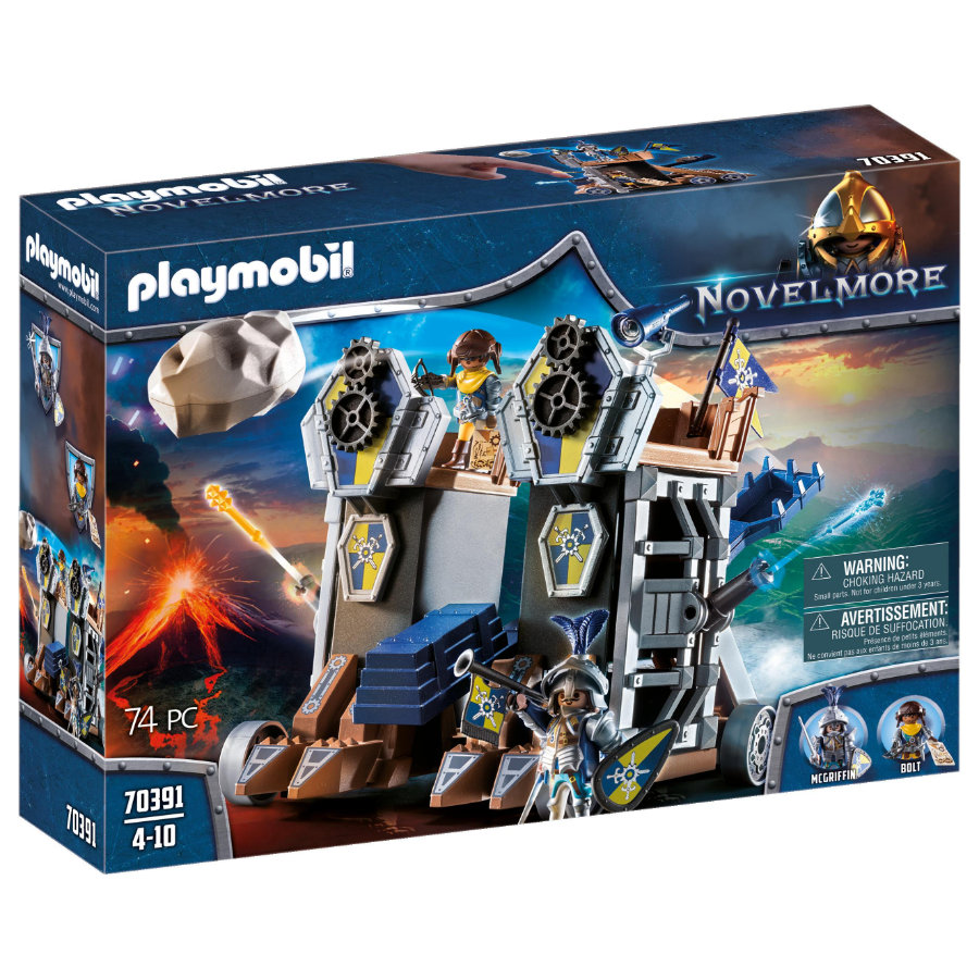 PLAYMOBIL ® NOVELMORE Mobile Catapult Fort