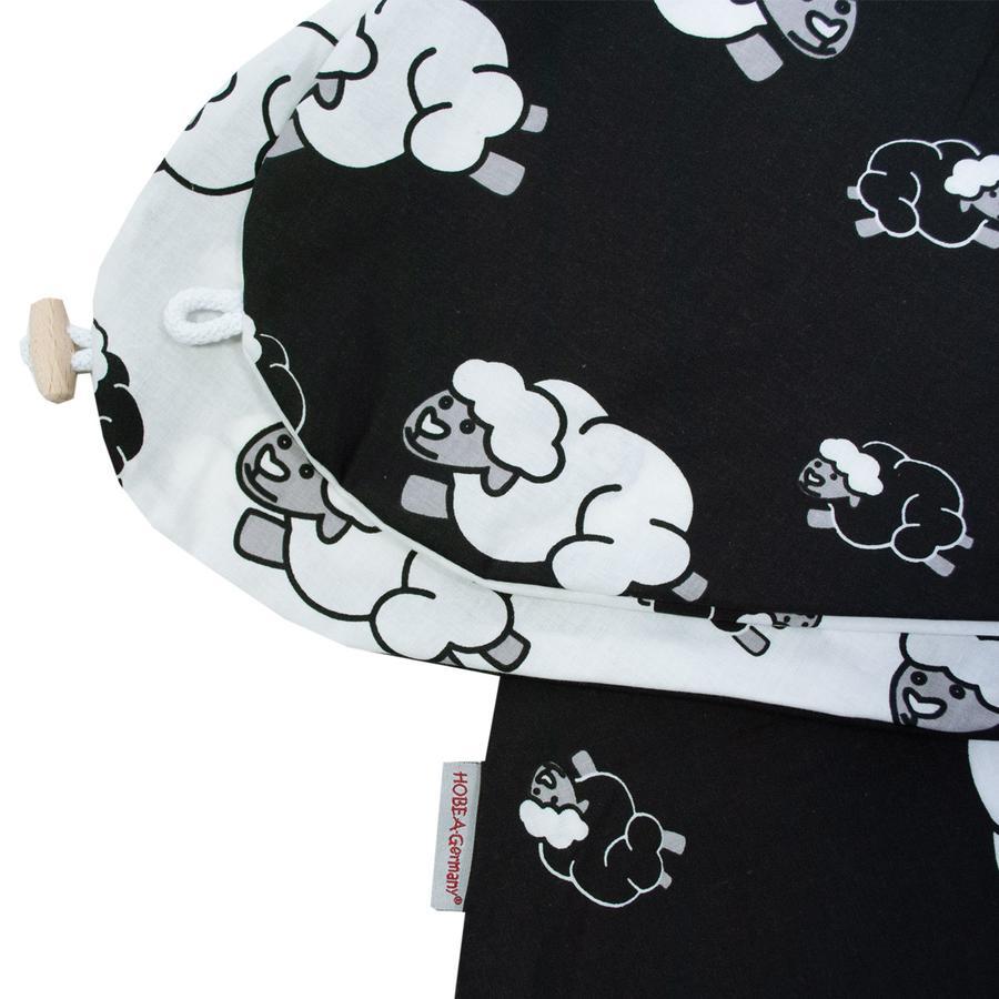 HOBEA-Duitsland verpleegkussenhoes schapen zwart wit