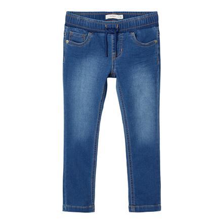 name it Pantalones de sudor NMMROBIN Medium Blue Denim