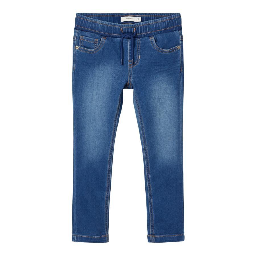 name it Zweet jeans NMMROBIN Medium Blauwe Denim
