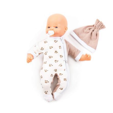 POLESIE ® Doll Little Sweety Softbody med napp, 28 cm