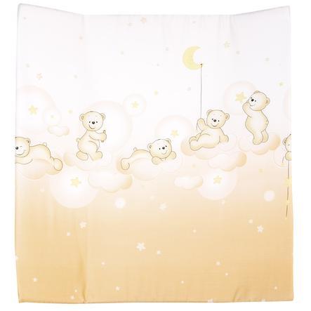 Alvi Wickelauflage Molly klein Bär auf Wolke apricot 70 x 53 cm