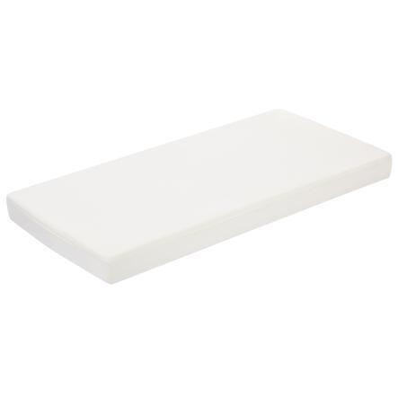 Alvi® Drap housse de lit enfant Perlam 70x140 cm blanc