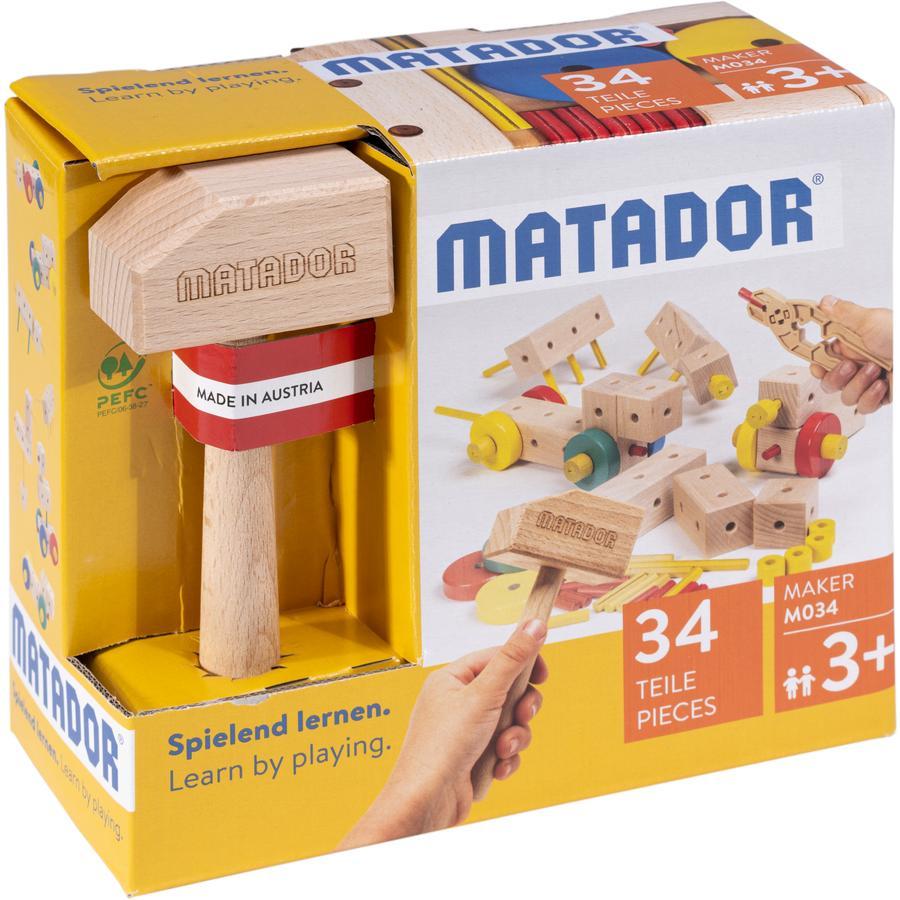 MATADOR ® Maker M034 Trekonstruksjonssett