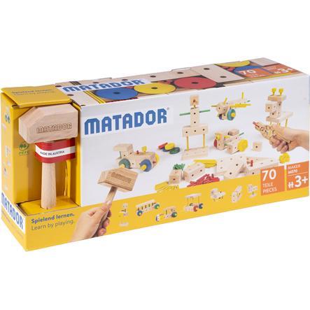 MATADOR ® Maker M070 Træbygningssæt