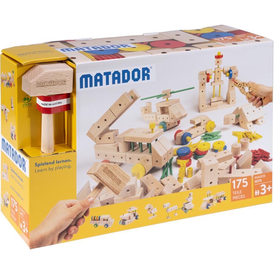 MATADOR ® Maker M175 drewniany zestaw konstrukcyjny