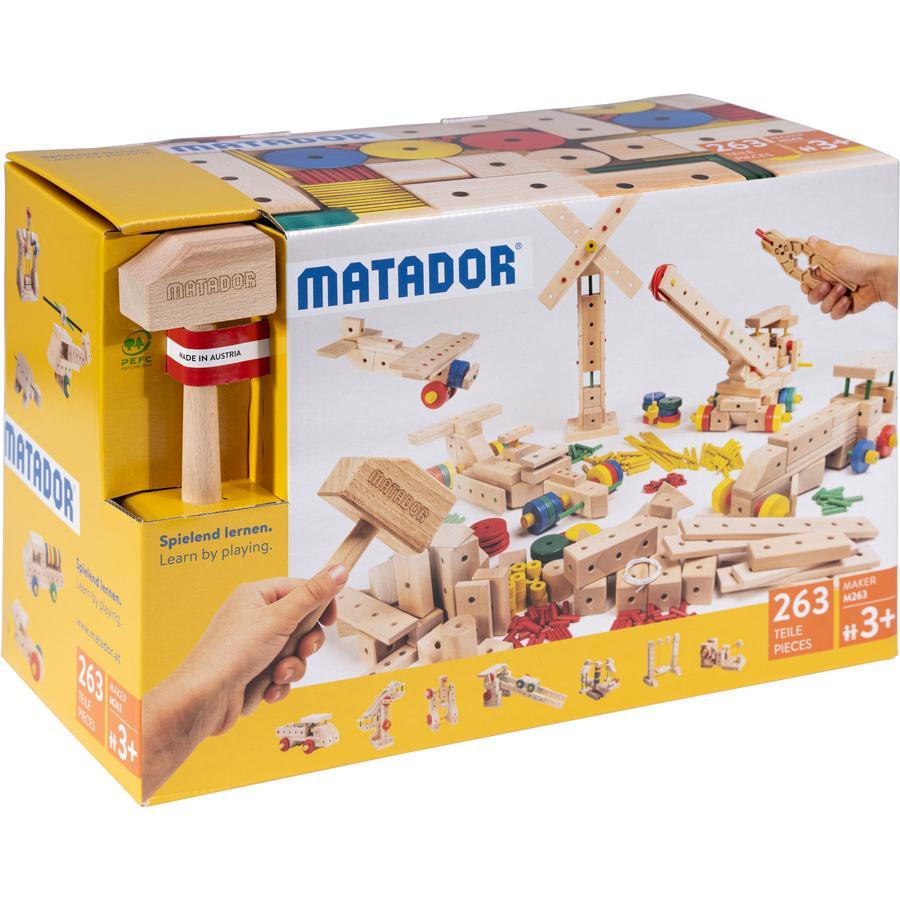 MATADOR ® Maker M263 Träkonstruktionssats