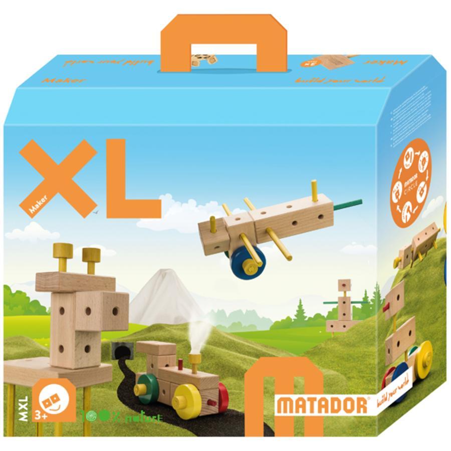 MATADOR Dřevěná stavebnice Maker MXL