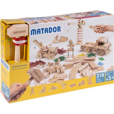 MATADOR® Explorer E318 Holz Konstruktionsbaukasten