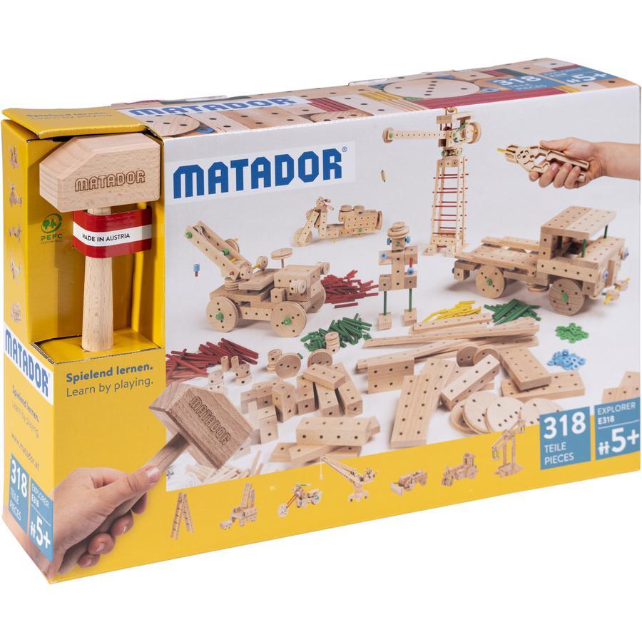 MATADOR ® Explore r E318 Træbygningssæt