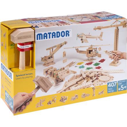 MATADOR® Explorer E407 Holz Konstruktionsbaukasten