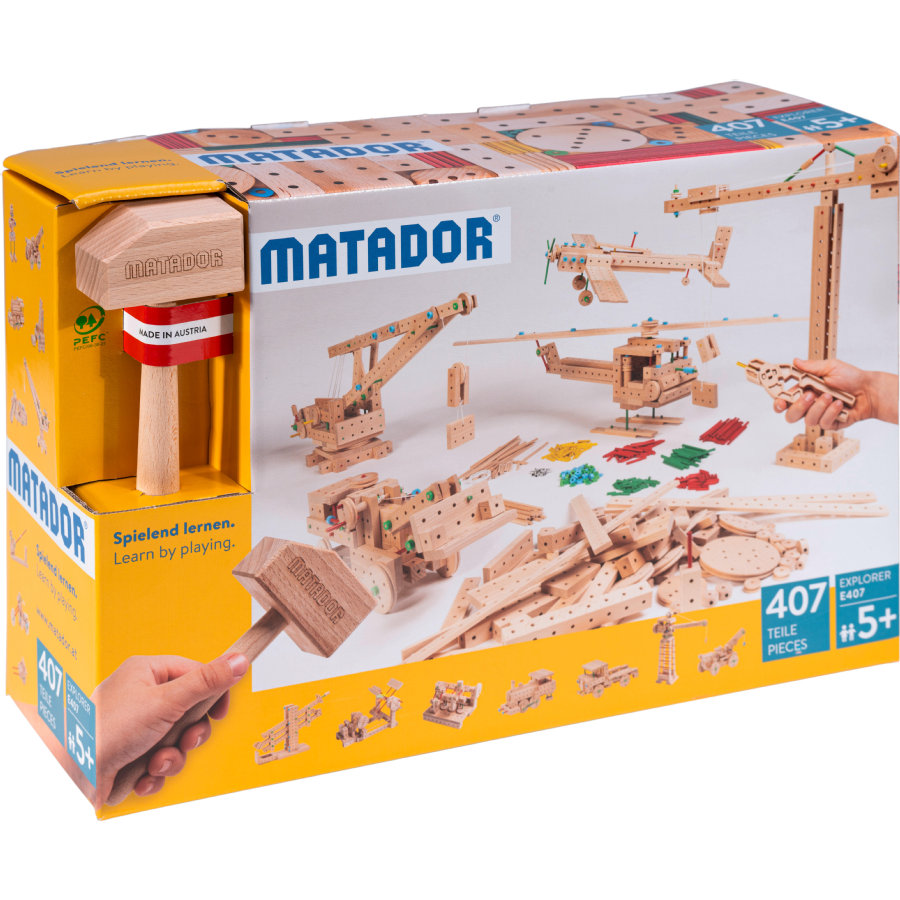 MATADOR ® Explore r E407 Houtbouwset