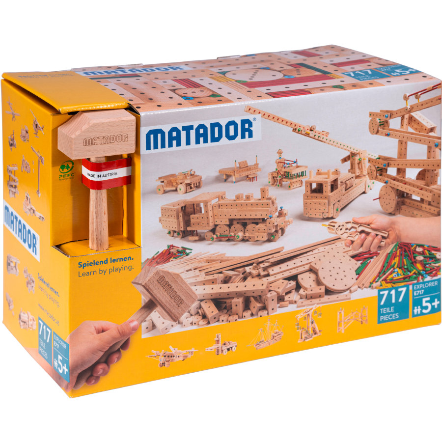 MATADOR ® Explore r E717 Houtbouwset