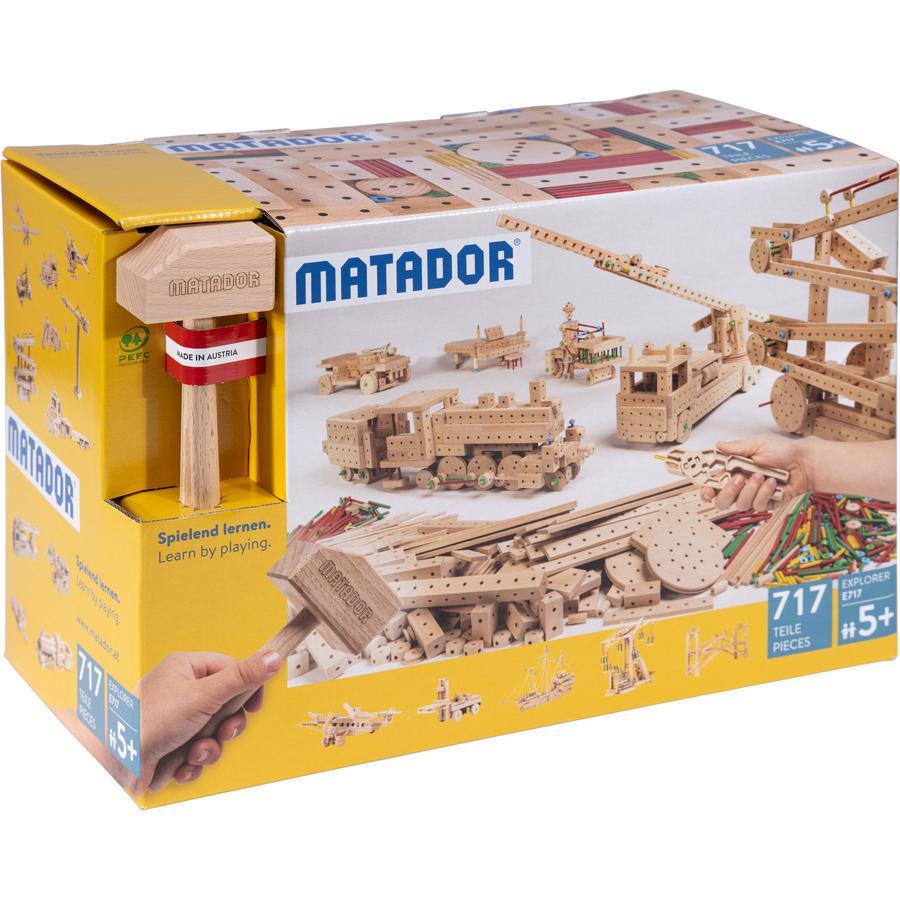 MATADOR® Explorer E717 Holz Konstruktionsbaukasten