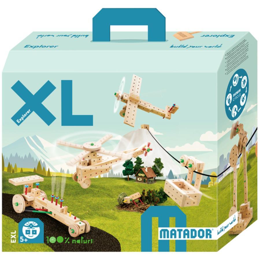 MATADOR® Jeu de construction Explorer EXL bois
