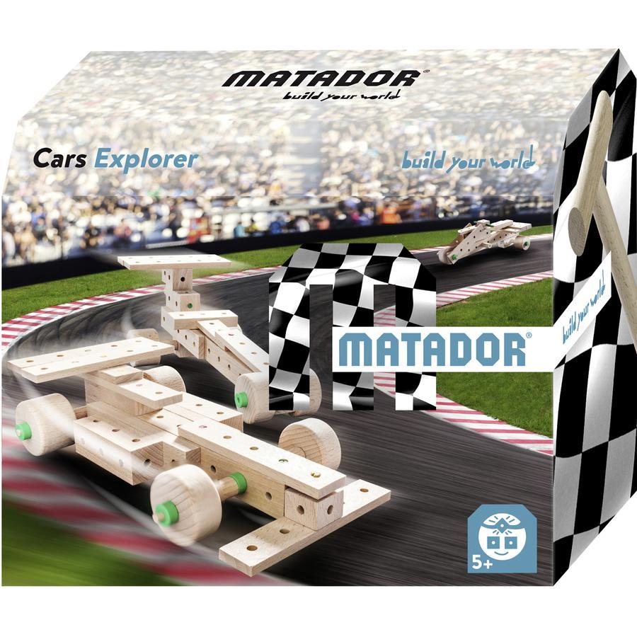 MATADOR® Jeu de construction Matador Cars Explorer 5+ bois