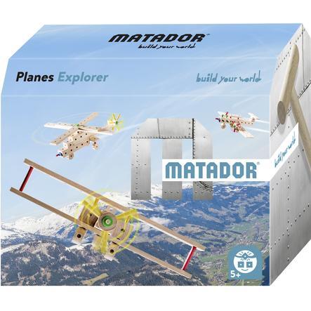 MATADOR® Jeu de construction Matador Planes Explorer 5+ bois