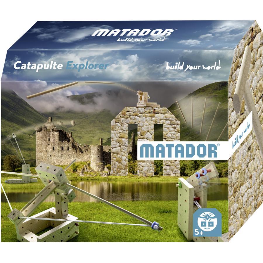 MATADOR® Jeu de construction Matador Catapult Explorer 5+ bois