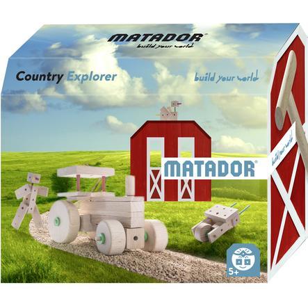 MATADOR® Jeu de construction Matador Country Explorer 5+ bois