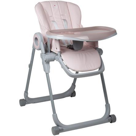 babyGO Chaise haute enfant évolutive Divan rose