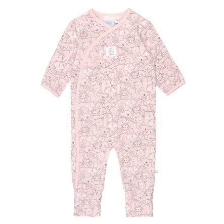Feetje Pyjamas med foldefod We Are Family pink