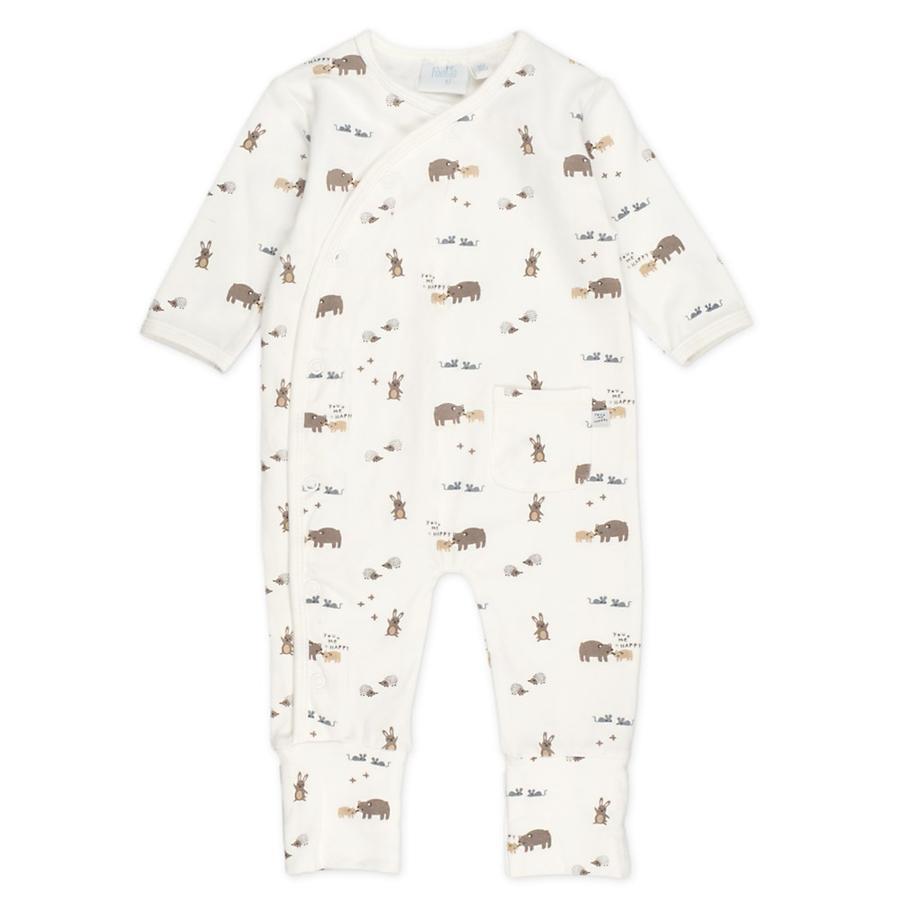 Feetje-pyjama taitettavalla lahkeella, eläinpainatus