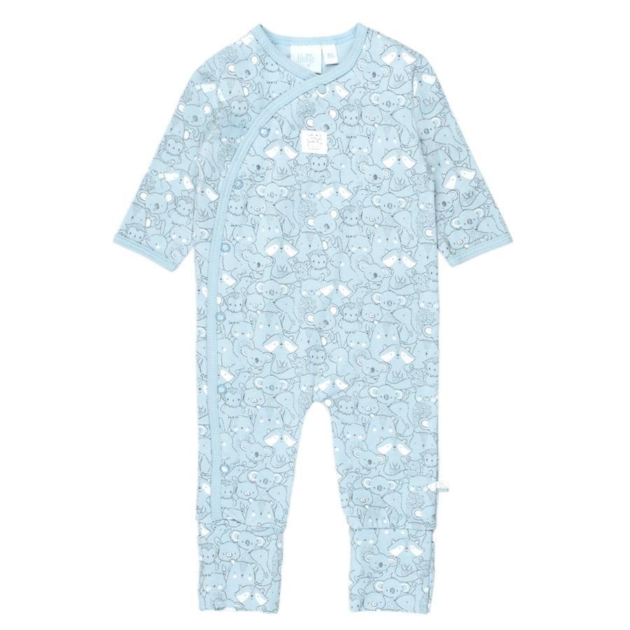 Feetje Pyjama met klapvoet We Are Family Blue