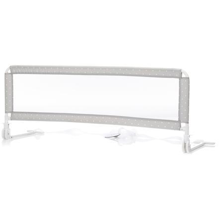 fillikid Bettgitter 135 cm für Standard- und Boxspringbetten Punkte Grau