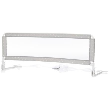 fillikid Bettgitter für Standard- und Boxspringbetten 135 cm Punkte Grau