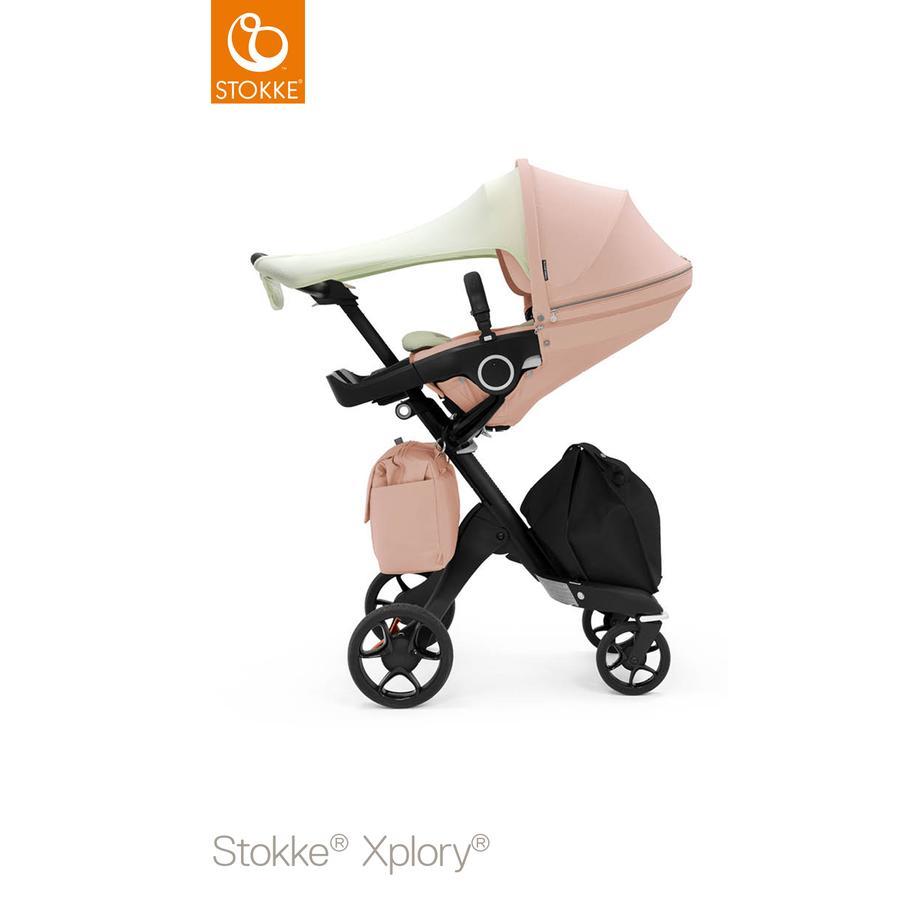 STOKKE® Kinderwagen Xplory® V6 Balance Pink mit Sportwagenaufsatz Limited Edition