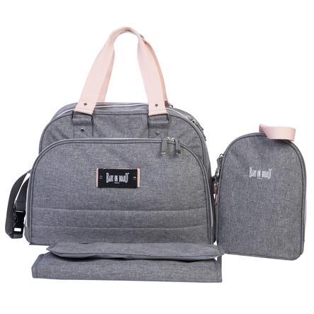 BABY ON BOARD Přebalovací taška Urban Classic šedá
