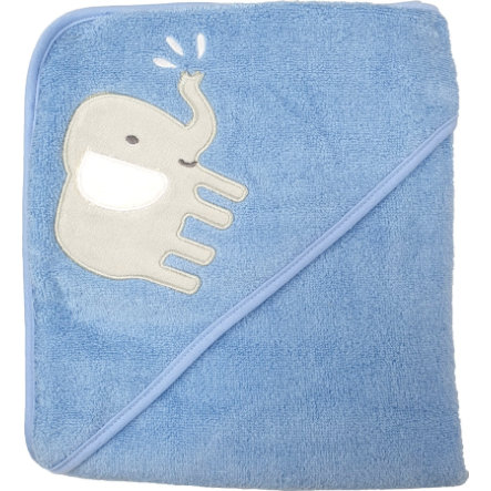 HÜTTE & CO Cape de bain enfant airblue 100x100 cm
