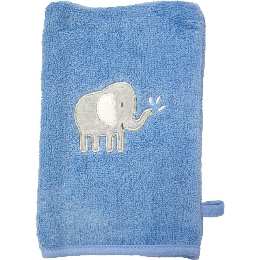 HÜTTE & CO tvätthandske 2-pack airblue