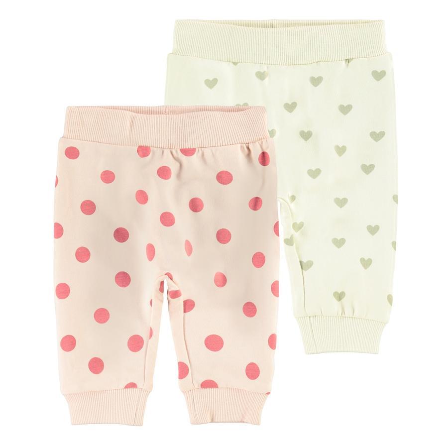 name it Pantalones de chándal 2-pack NBFTINNE Peach Látigo