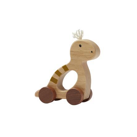 Kids Concept® Jouet à tirer dinosaure Neo bois naturel