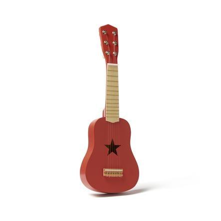 Kids Concept kytara červená
