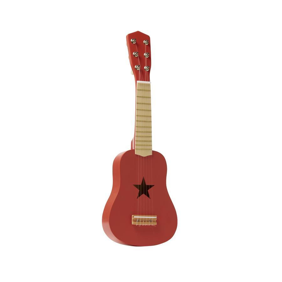 Kids Concept ® Guitarra de juguete roja