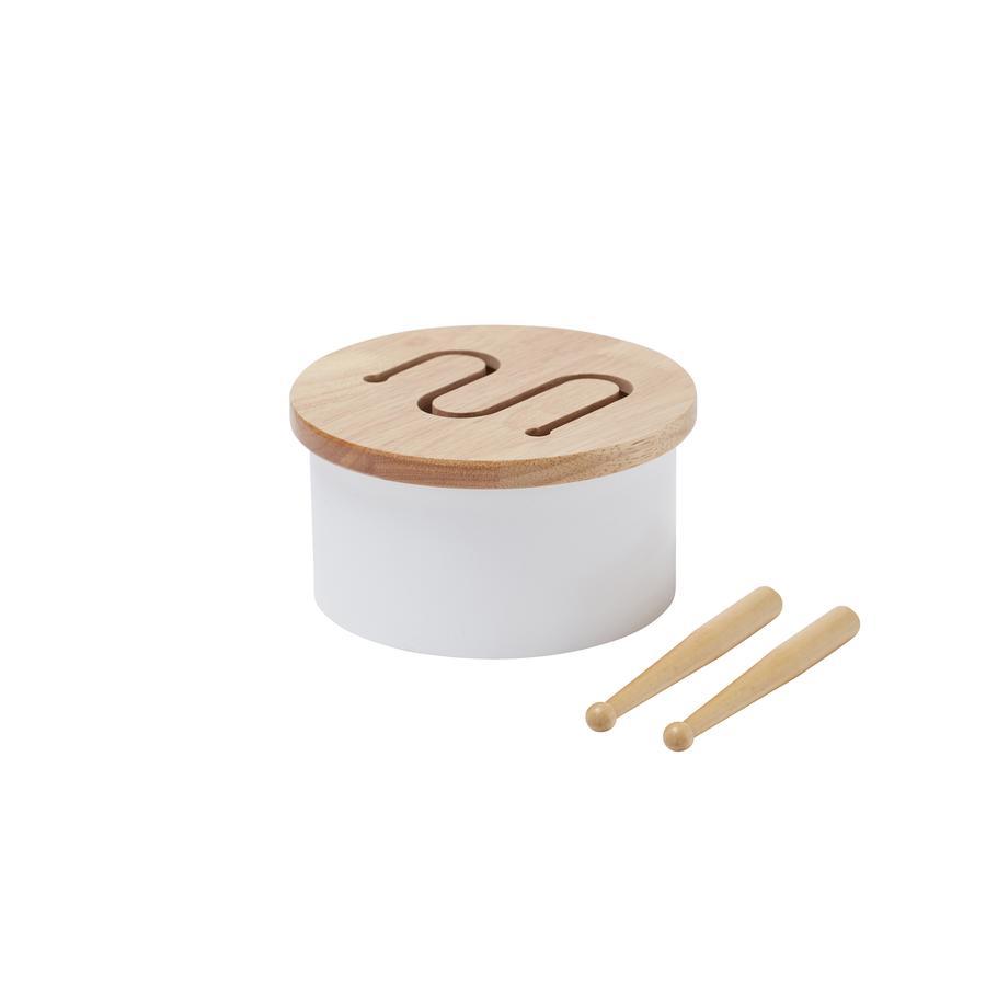Kids Concept ® tambor pequeño, blanco