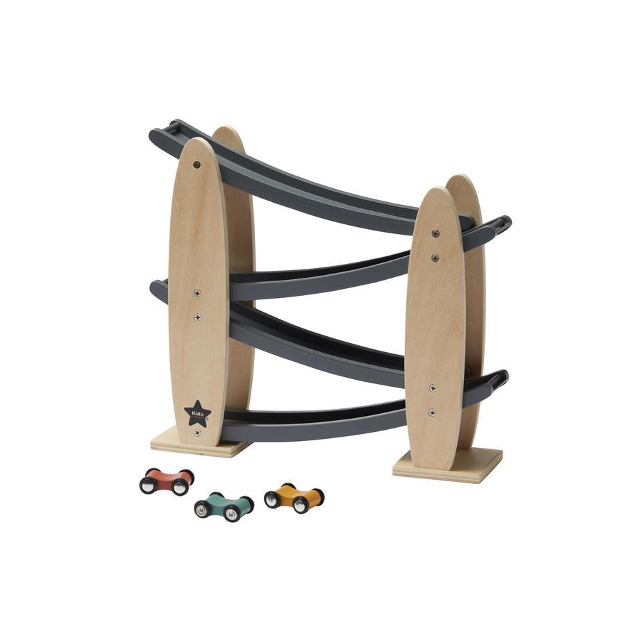 Kids Concept® Kugelbahn mit Autos Aiden, grau