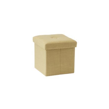 Kids Concept ® Sitzkiste gelb-beige