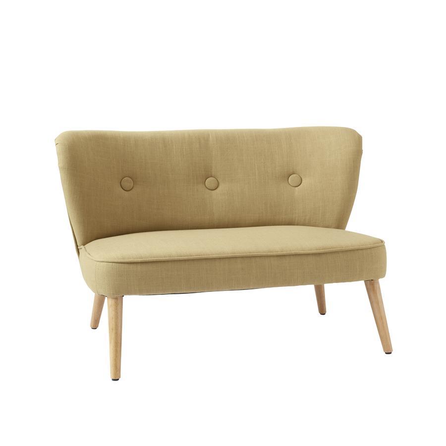 Kids Concept ® Żółta sofa dla dzieci