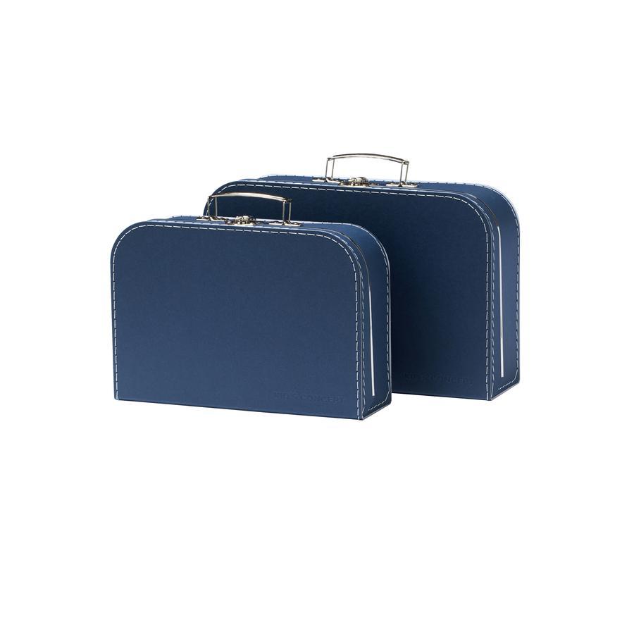 Kids Concept® Koffer 2er-Set blau