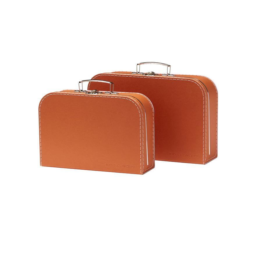 Kids Concept sada dětských kufrů z nerezové oceli