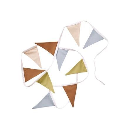 Kids Concept® Wimpelgirlande beige