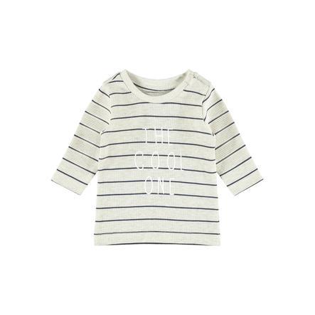 Name it Langærmet skjorte NBMTIPANO Peyote Melange
