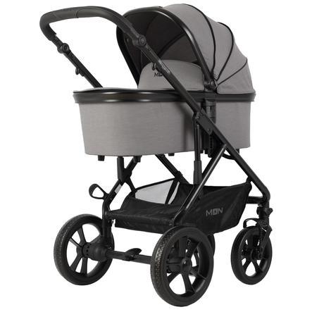 MOON Carro de bebé combi Nuova Stone Melange Exclusiv