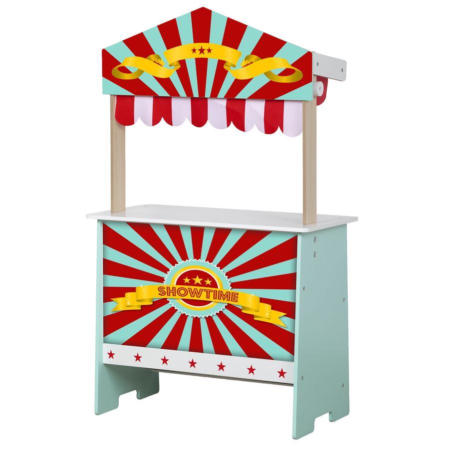 beluga Marchande enfant théâtre de marionnettes 2en1 Play Shop bois