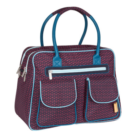 LÄSSIG Wickeltasche Casual Shoulder Bag Diamond Navy