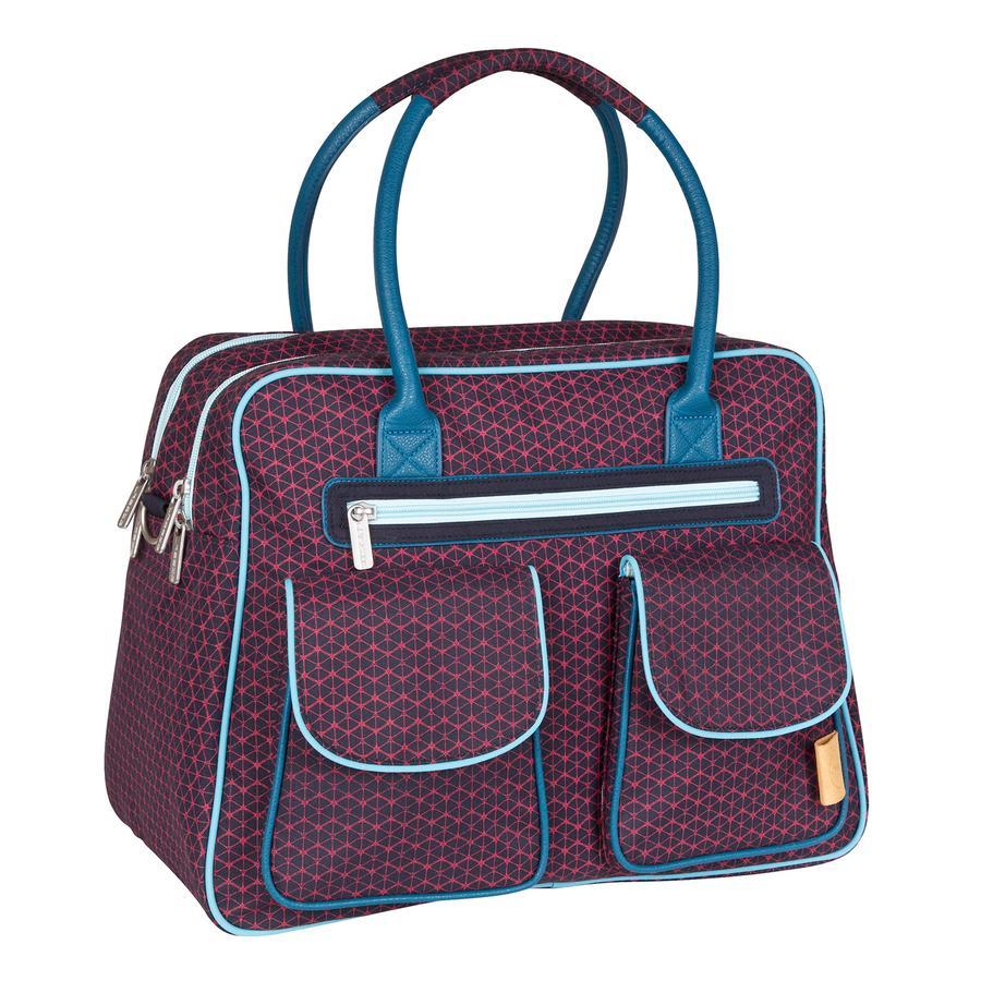 LÄSSIG Nappy Bag Casual Shoulder Bag Diamond Navy